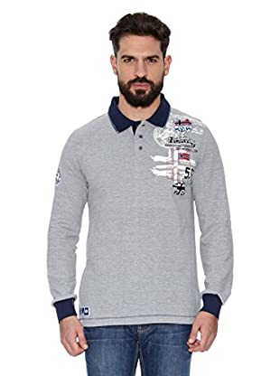 Geographical Norway Polo Manga Larga ML Karite Ls Men 401 (Gris)