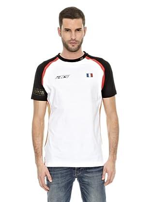 Lotus Camiseta F1 Romain (Blanco / Rojo / Negro)