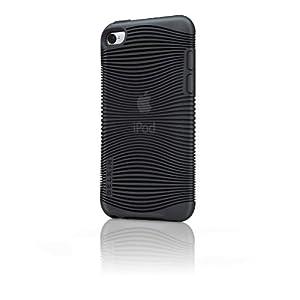 【クリックで詳細表示】【国内正規代理店品】belkin ベルキン iPod touch 4G 専用 ソフトシェルケース (TPU素材使用) グリップエルゴ ブラック F8Z654QEC00