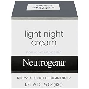 Neutrogena Light Night Cream, 2.25 Ounce