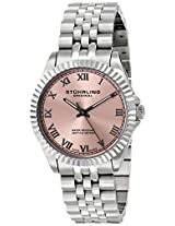 Stuhrling Original Symphony Lady Coronet Analog Pink Dial Women's Watch - 599L.03