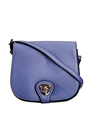 Louche Bags Bolso Bags Womens Mary-Kate Cross-Body Bag (Azul)