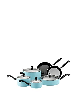 Farberware Classic Colors 12-Piece Cookware Set (Turquoise)