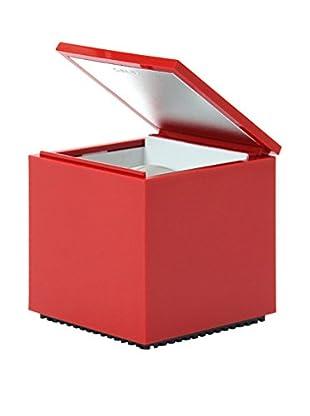 Cini & Nils Lámpara De Mesa Cuboled Rojo