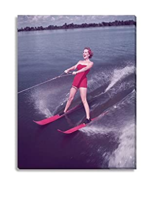 Photos.Com By Getty Images Water Skiing By Keystone On Canvas