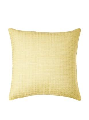 Vera Wang Modern Ikat Pillow, Citron