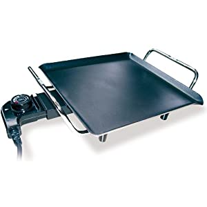Sogo BAR-SS1215 Electric Barbecue Table Grill(Black)
