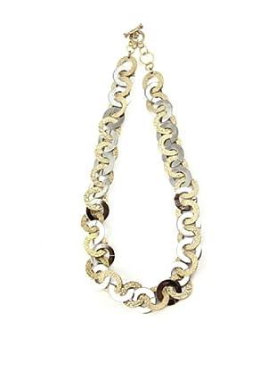Tedora Collar Bronce Acero LACO001 Dorado