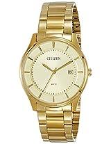 Citizen Analog Gold Dial Men's Watch - BD0043-59P