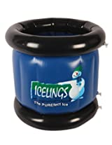Icelings Inflatable Round Cooler