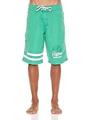 Grimey Wear Bañador Criminal Minded (Verde)
