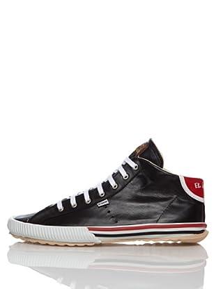 El Ganso Zapatos Midboot College (Negro)