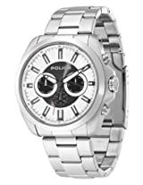 Police MultiFunction Chronograph White Dial Men's Watch - 12880JS/04M