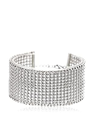 So Charm with Crystals from Swarovski Brazalete  Plateado