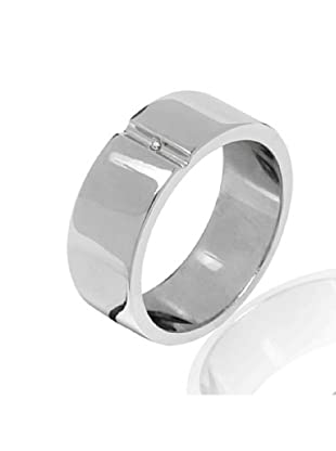Secret Diamonds 60250117 - Anillo de mujer de plata de ley con 1 Diamante (Plata)