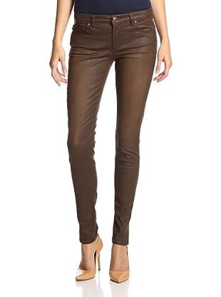 Agave Women's Delgada Coated Skinny Jean (Durango)