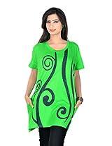 Vivaa Women's Pure Cotton Long Top