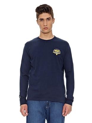 Carrera Jeans Camiseta Básica (Azul)