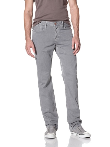 Earnest Sewn Men's Fulton 5 Pocket Straight Jeans (Slate)