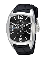 Invicta Men's 18901 Lupah Stainless Steel Watch With Black Silicone Band
