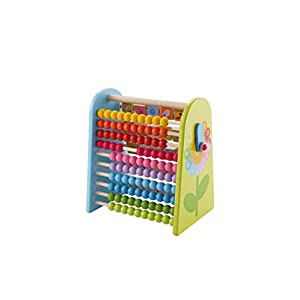 Sevi 82600 Abacus and Alphabet- Multicolor