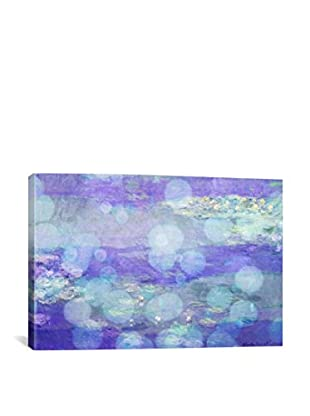 Waterlilies II Gallery Wrapped Canvas Print
