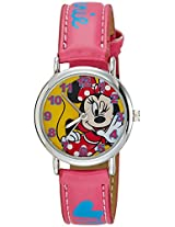 Disney Analog Multi-Color Dial Girl's Watch - 3K0384U-MK (PINK)