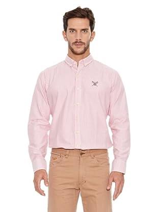 Spagnolo Camisa Oxford Albero (Rojo)