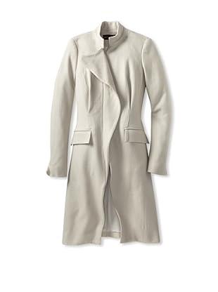 Christian Siriano Women's Wing Coat with Pockets (Ice)