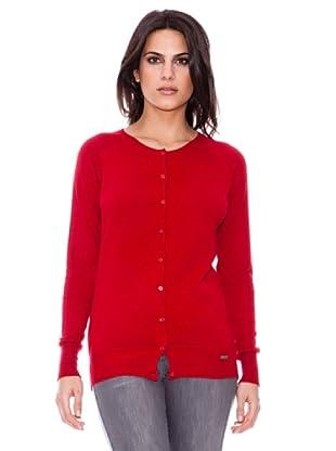 Steilmann Chaqueta Botones (Rojo)