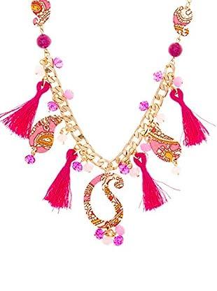 Edien Halskette Pink Cachemir