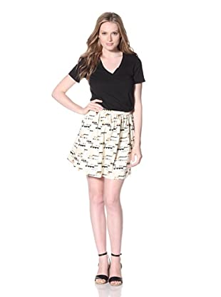 PJK Patterson J. Kincaid Women's Ralin Skirt (Ivory Multi)