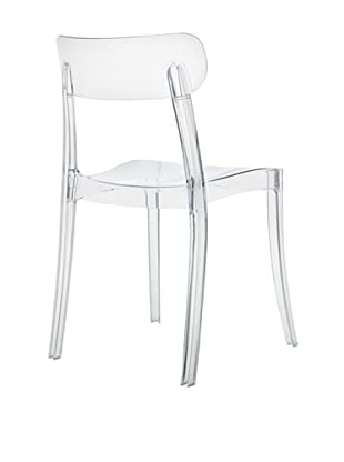 Domitalia New Retro Chair, Clear