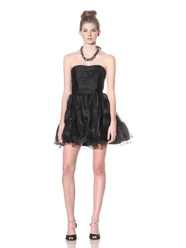 Betsey Johnson Women's Afternoon Cloud Dress (Black)