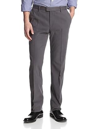 Salvatore Ferragamo Men's Flat-Front Corduroy Pants (Grey)