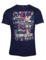 Pepe Jeans Navy Round Neck T Shirt