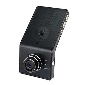 【クリックで詳細表示】HDMI対応TV出力可 アルミボディ ドライブレコーダー ブラック 2.4インチモニター搭載 1920X1080