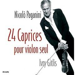 ギトリス(P) パガニーニ 24のカプリッチョの商品写真