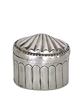 Blue Ocean Traders Shell Box, Silver