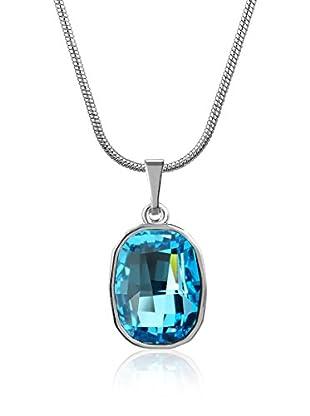Absolute Crystals Set Kette und Anhänger Graphic Fancy aquamarin