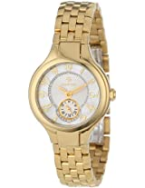 Philip Stein Women's 44GP-FMOP-SS5GP Gold-Plated Watch with Link Bracelet