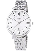 Fossil Analog Silver Dial Women's Watch - ES3433