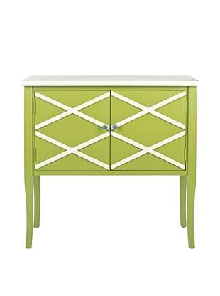 Safavieh Winona Sideboard, Lime Green/White
