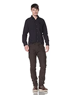 Projek Raw Men's Slim Straight Leg Pants (Olive)