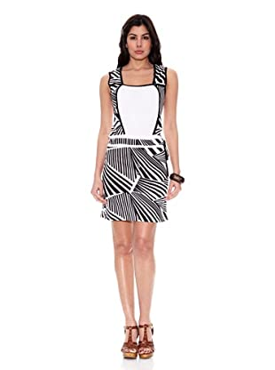 HHG Vestido Filadelfia (Blanco / Negro)