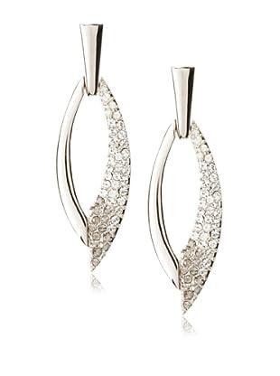 Judith Leiber Open Oval Earrings