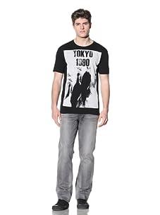 MG Black Label Men's Tokyo T-Shirt (Black)