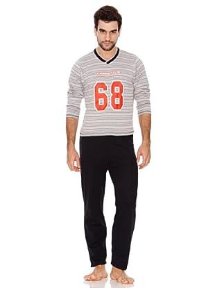 Kumy Pijama T68 Kumy (negro)