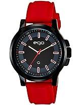 Maxima Ego Analog Black Dial Men's Watch - E-01180PAGB