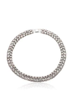 Manufacture Royale des Perles du Pacifique Halskette  grau
